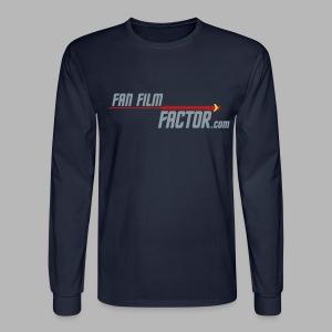 Fan Film Factor Long-sleeve - NAVY - Men's Long Sleeve T-Shirt