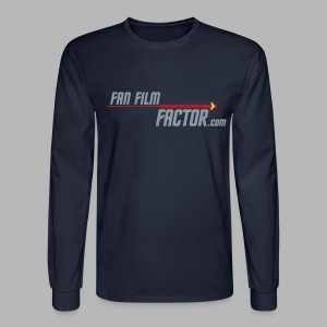 Fan Film Factor Long-sleeve - NAVY - Men's Long Sleeve T-Shirt