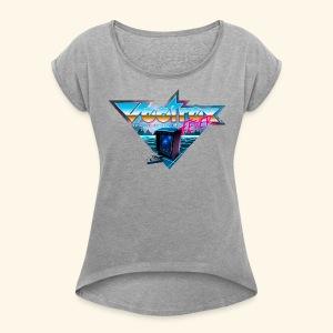 VectrexFever - Women's Roll Cuff T-Shirt