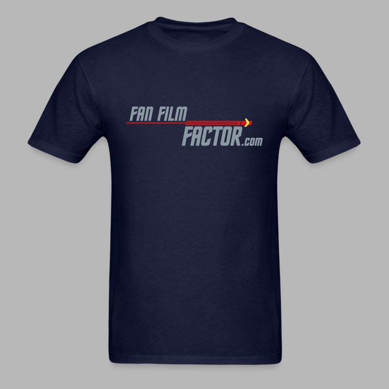 Fan Film Factor T-shirt - NAVY - Men's T-Shirt