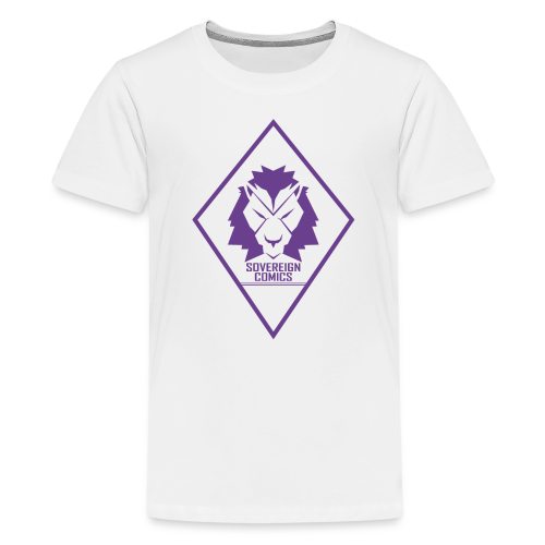 Purple Logo - Kids' Premium T-Shirt