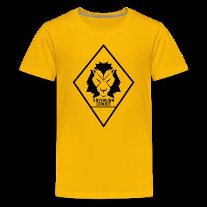 Black Logo - Kids' Premium T-Shirt