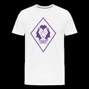 Purple Logo - Men's Premium T-Shirt