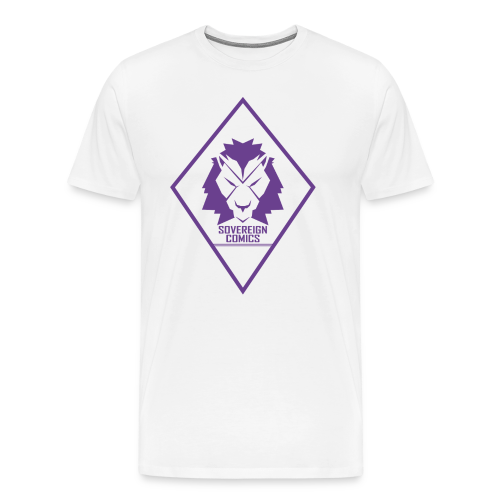 Purple Logo - Men's Premium T-Shirt