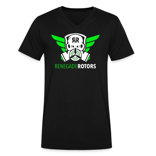 Renegade Rotors V - Men's V-Neck T-Shirt by Canvas