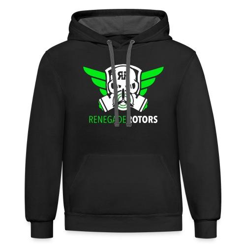 Renegade Rotors Hoodie - Contrast Hoodie