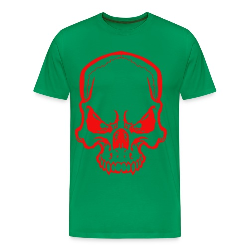 angryskull copy_ss - Men's Premium T-Shirt