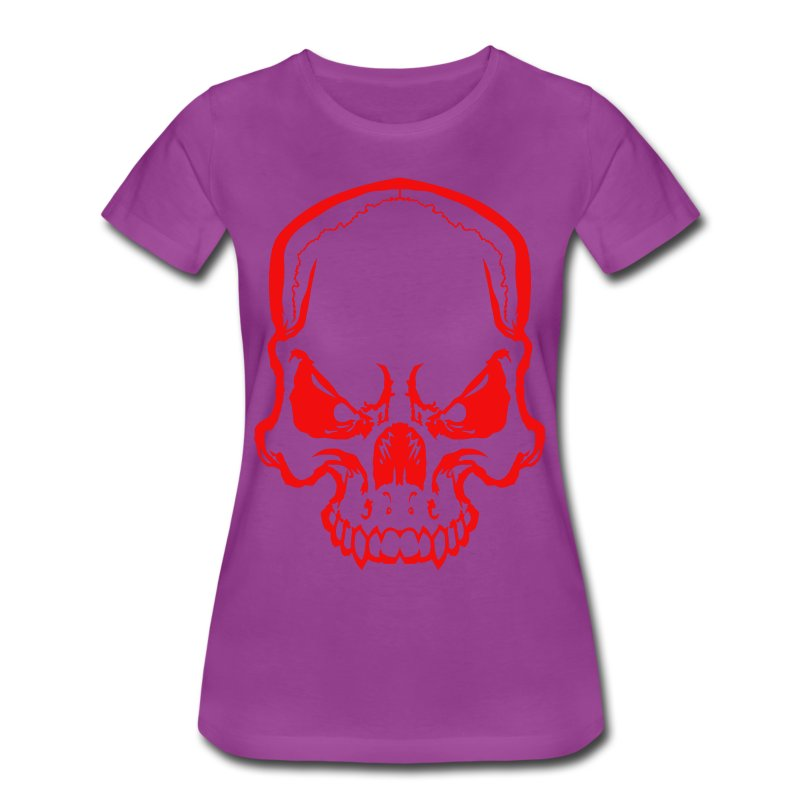 angryskull copy_ss - Women's Premium T-Shirt