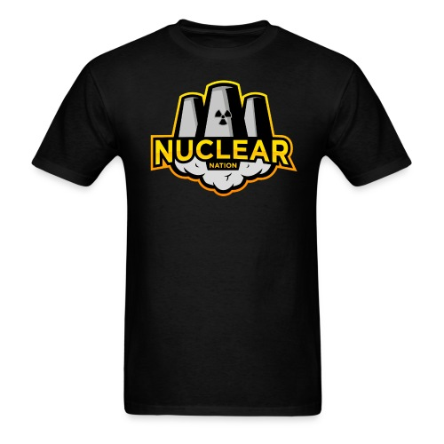 Nuclear Nation T-Shirt Black - Men's T-Shirt
