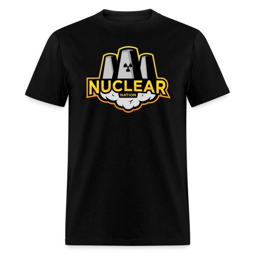 Nuclear Nation T-Shirt Black - Men's T-Shirt