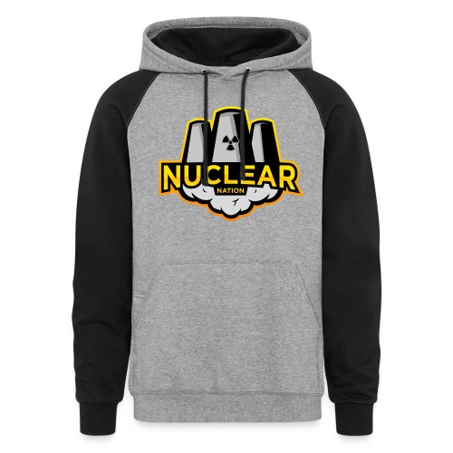 Nuclear Nation Two Tone Sweatshirt - Colorblock Hoodie