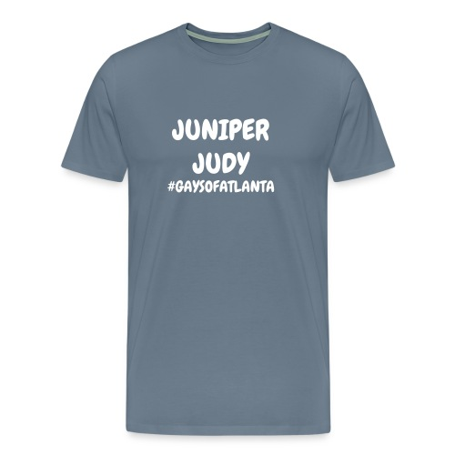 Juniper Judy Tee - White Letter - Men's Premium T-Shirt