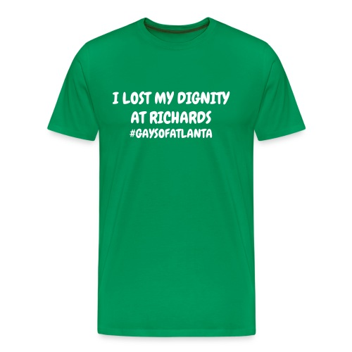 Lost My Dignity Tee - Multicolor - Men's Premium T-Shirt