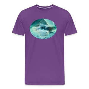 Wave Interference - Men's Premium T-Shirt