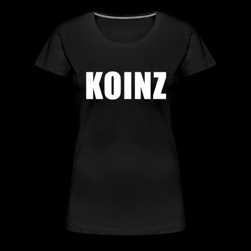 KOINZ Tee - Women's Premium T-Shirt