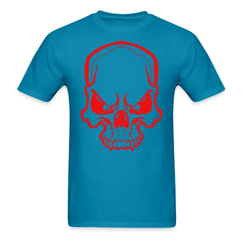 angryskull copy_ss - Men's T-Shirt