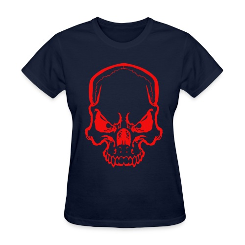 angryskull copy_ss - Women's T-Shirt