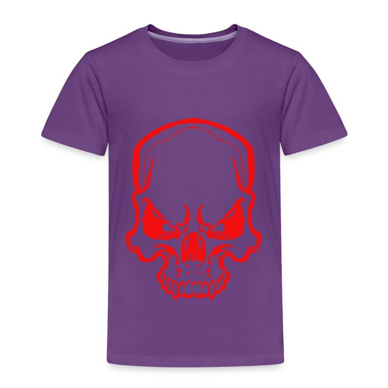 angryskull copy_ss - Toddler Premium T-Shirt