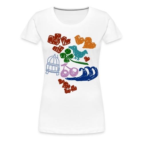 Happy Charms - Women's Premium T-Shirt