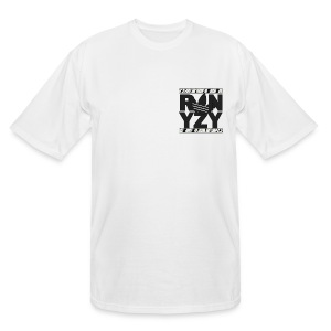 td white - Men's Tall T-Shirt