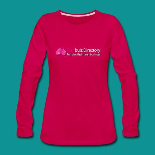 Fembuiz - Long Sleeve - Women's Premium Long Sleeve T-Shirt
