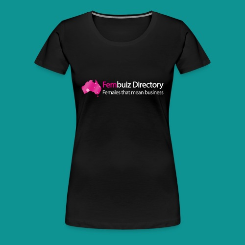 Fembuiz Logo T-shirt + - Women's Premium T-Shirt