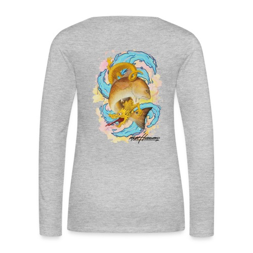 Women's Premium Red Dragon Long Sleeve Shirt - Women's Premium Long Sleeve T-Shirt