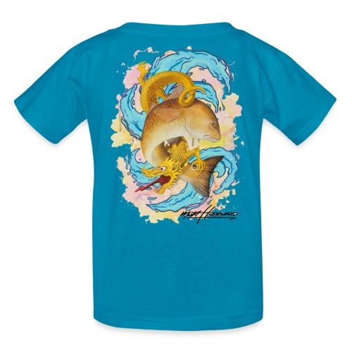 Kid's Standard Red Dragon T-Shirt - Kids' T-Shirt