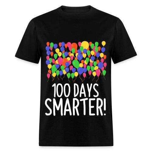 100 Balloons 100th Day of School Teacher/Student - Men's T-Shirt