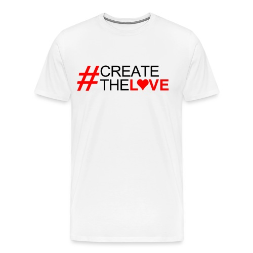 #CreateTheLove Mens Tee - Men's Premium T-Shirt