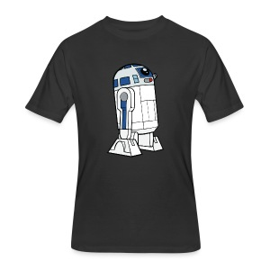 R2-D2 (couple shirt)- Men - Men's 50/50 T-Shirt