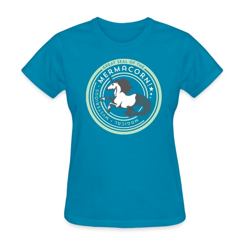 Mermacorn Short Sleeve - Ladies - Women's T-Shirt