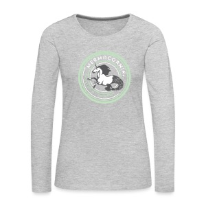 Mermacorn Long Sleeve - Ladies - Women's Premium Long Sleeve T-Shirt