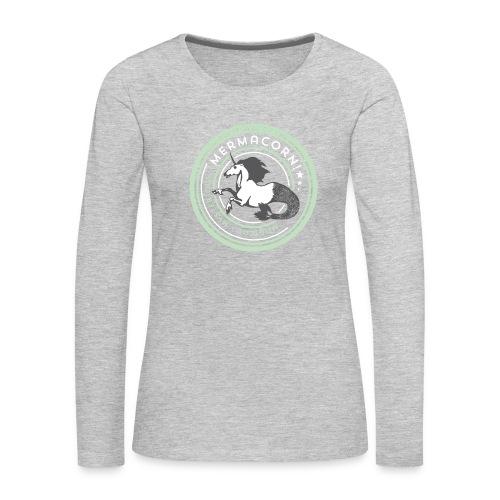 Mermacorn Long Sleeve - Ladies - Women's Premium Long Sleeve T-Shirt