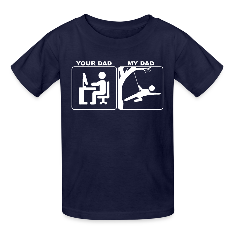 Usaprint Fathers Day Dad T Shirt My Dad My Hero Design T: Your Dad My Dad T-Shirt