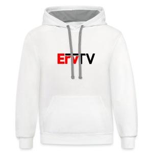 ErvTV Hoodie - Contrast Hoodie