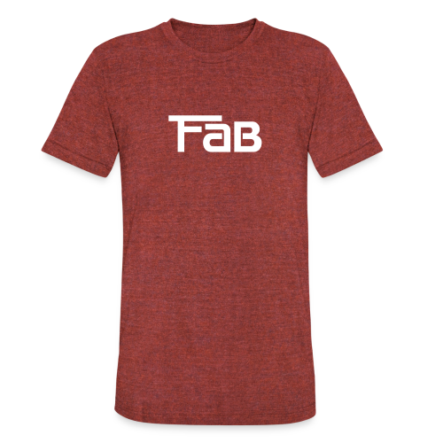 Fab Triblend Tee - Unisex Tri-Blend T-Shirt by American Apparel
