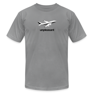 Flying is Unpleasant - Men's Fine Jersey T-Shirt