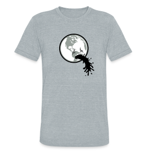 Planet Earth Detox Triblend Tee - Unisex Tri-Blend T-Shirt