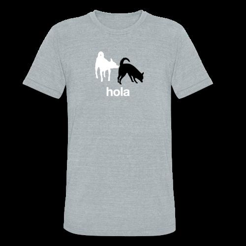 Hola Chihuahuas Triblend Tee - Unisex Tri-Blend T-Shirt