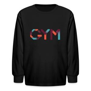 GYM - Kids' Long Sleeve T-Shirt