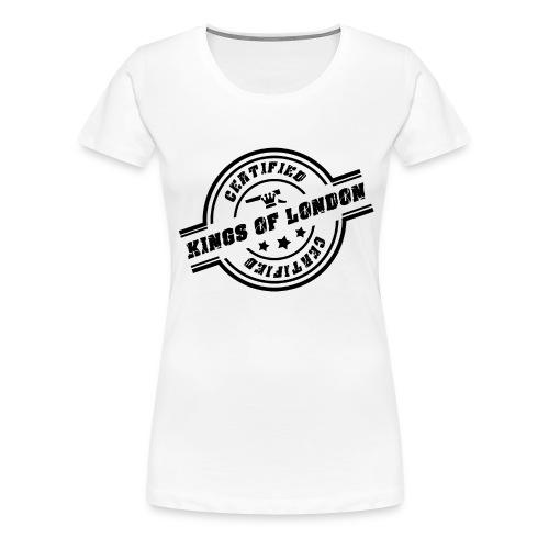 Ladies Kings of London Tee - Women's Premium T-Shirt