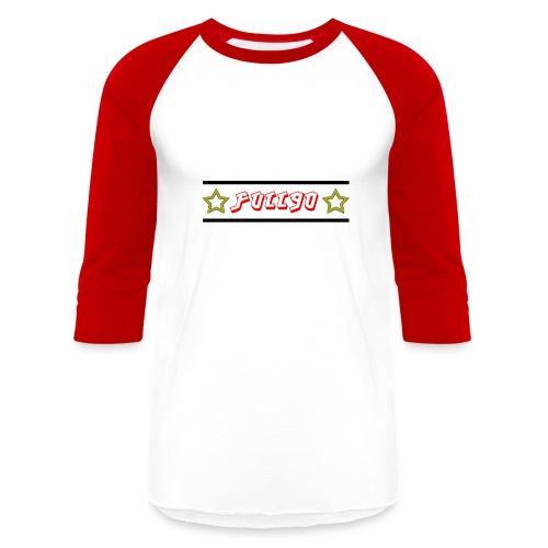 Full90 Stars Long Sleeve Tee - Baseball T-Shirt
