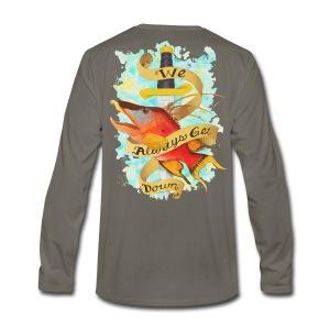 Men's Premium Get Down Hog Long Sleeve Shirt - Men's Premium Long Sleeve T-Shirt