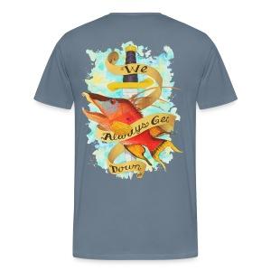 Men's Premium Get Down Hog T-Shirt - Men's Premium T-Shirt