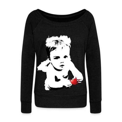 Angel Heart - Women's Wideneck Sweatshirt