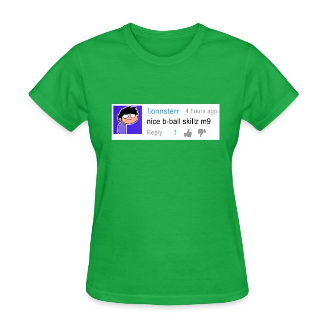 nice shirt m9 (woman's fitted)