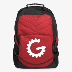 GulchCast G • Laptop Backpack - Red - Computer Backpack