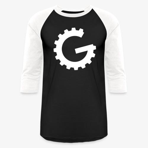 GulchCast G • Unisex Baseball Jersey - Black/White - Baseball T-Shirt