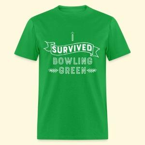 I Survived Bowling Green - White Text (Men) - Men's T-Shirt